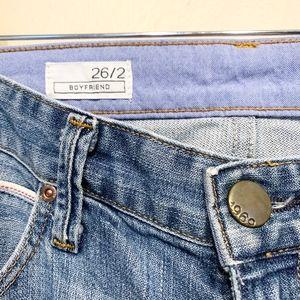 GAP Jeans - GAP   1969 Boyfriend Destructed Light Denim Jeans